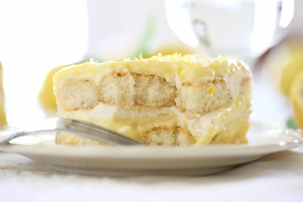 Bite of Lemon Tiramisu