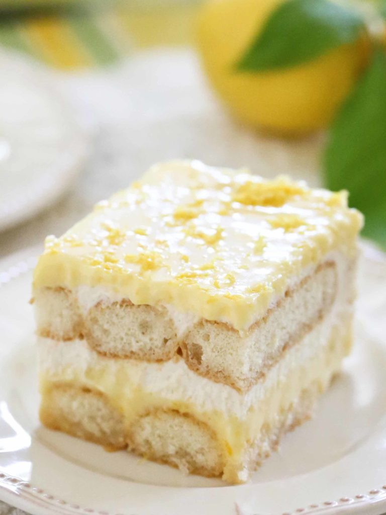 Homemade Lemon Tiramisu