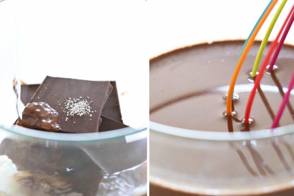 Melted Chocolate for Chocolate Tiramisu