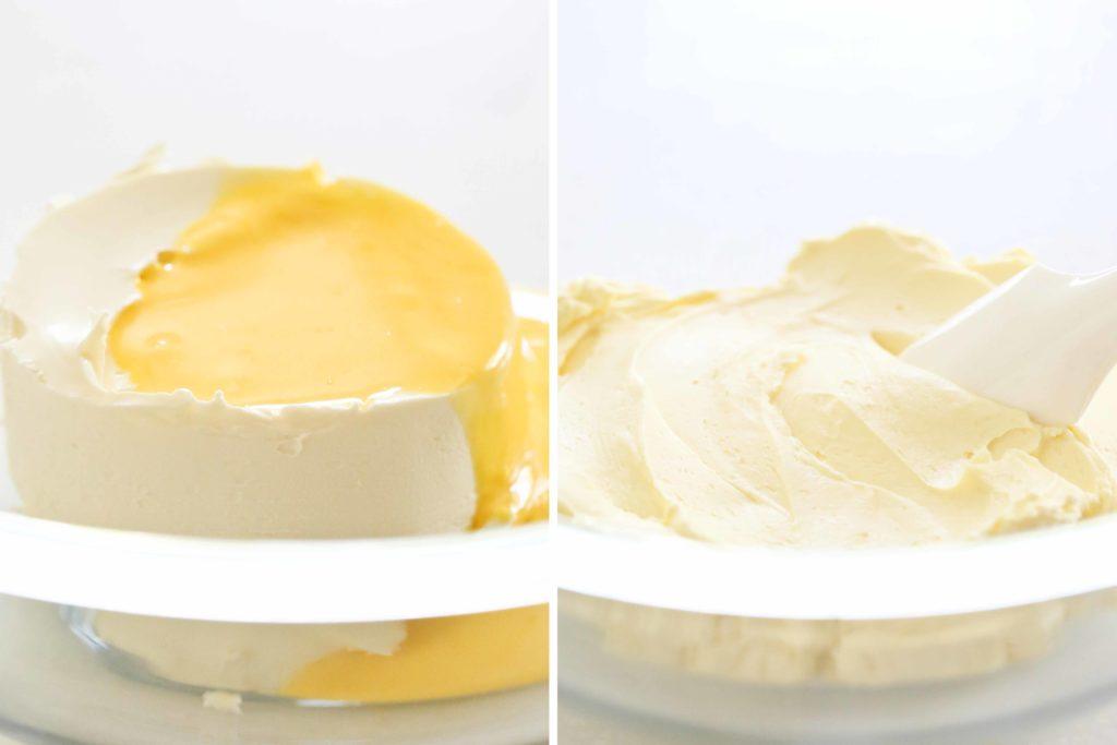 Mascarpone cheese for Chocolate Tiramisu