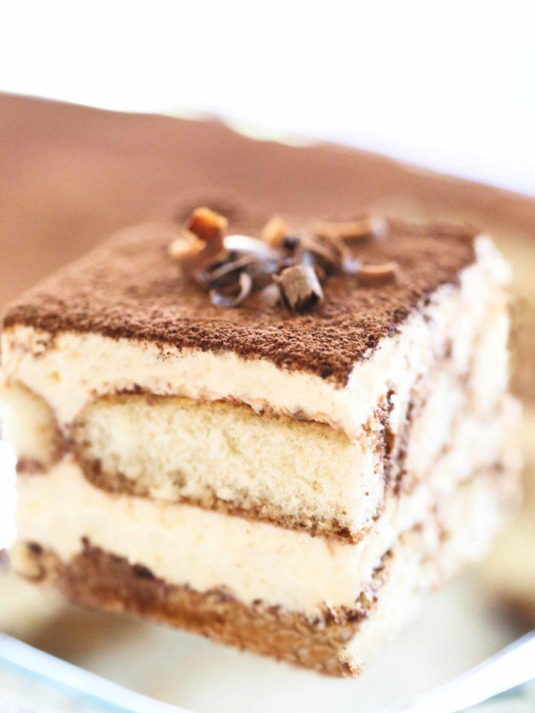 Slice of Chocolate Tiramisu