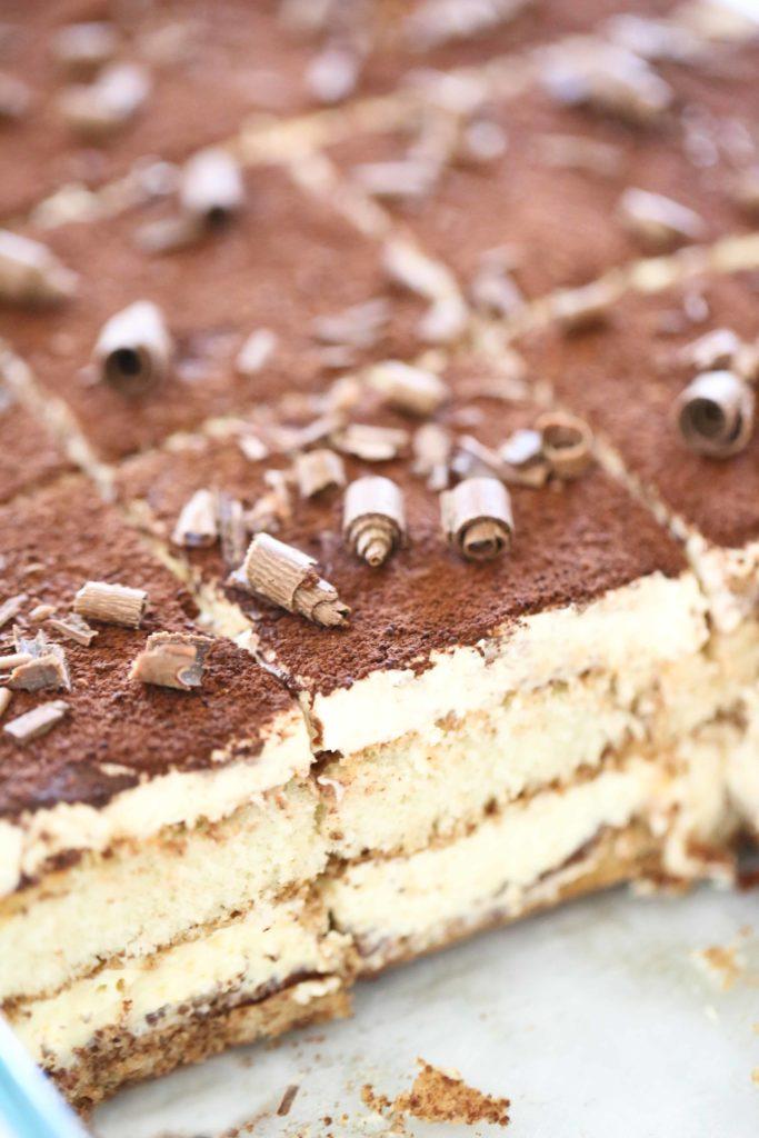 Homemade Chocolate Tiramisu