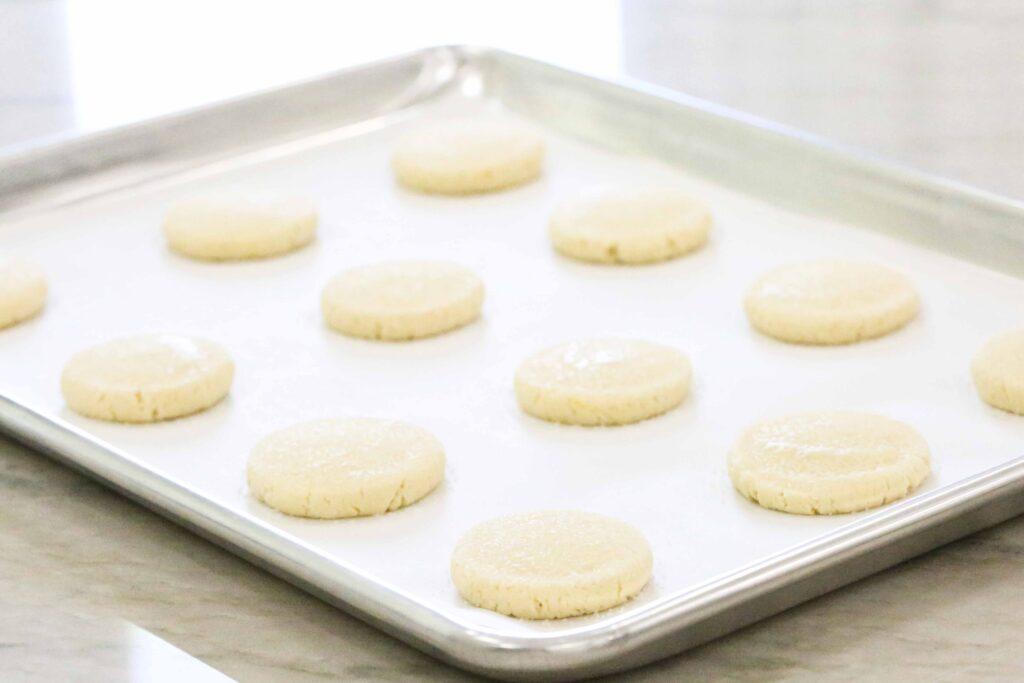 Lemon Cookies with Glaze
