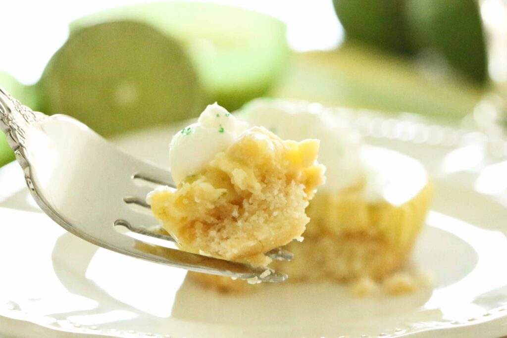 A bite of Key Lime Tarts