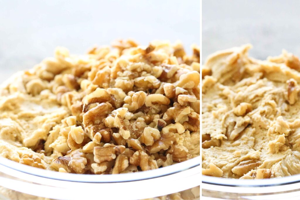 Salted Caramel Cookies with nuts