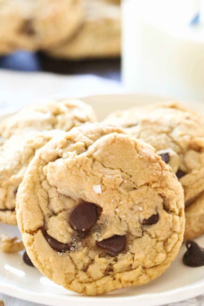 Chocolate Chip Salted Caramel Cookies