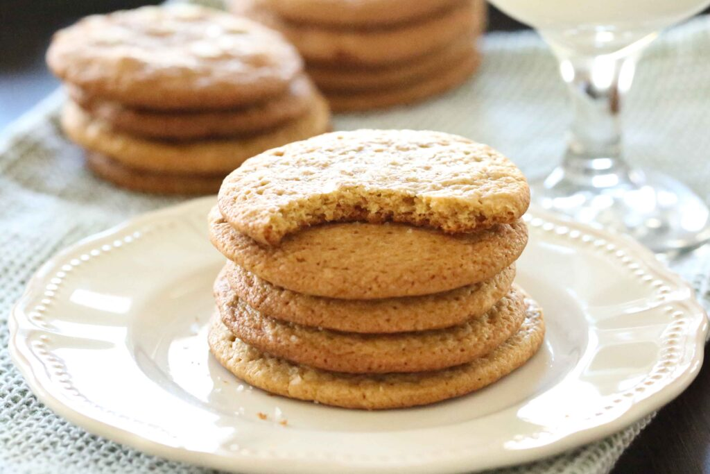 Stack of Salted Caramel Cookies