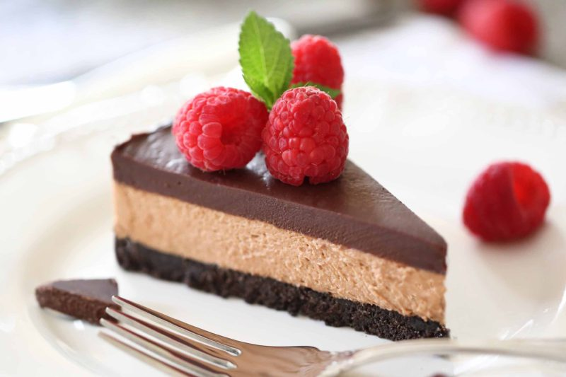 Triple Chocolate Mousse Pie