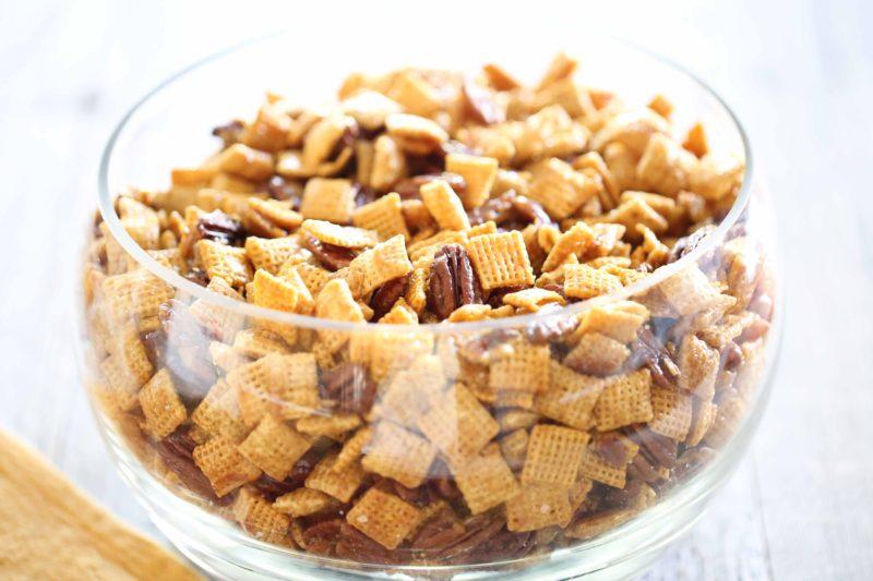 Pecan Praline Chex Mix Recipe