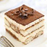 Single Serving of homemade Chocolate Tiramisu